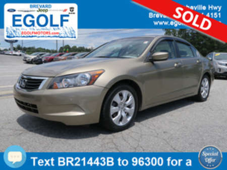 2009 Honda Accord EX-L for Sale  - 21443B  - Egolf Motors
