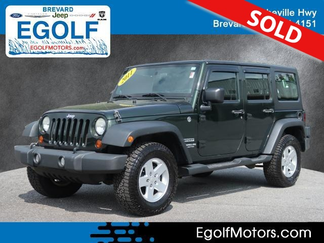 2011 Jeep Wrangler  - Egolf Motors