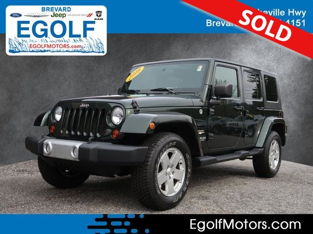 2010 Jeep Wrangler  - Egolf Motors