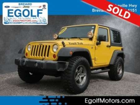 2008 Jeep Wrangler X 4WD for Sale  - 21811A  - Egolf Motors