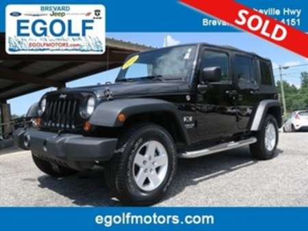 2009 Jeep Wrangler Unlimited X for Sale  - 21643A  - Egolf Motors