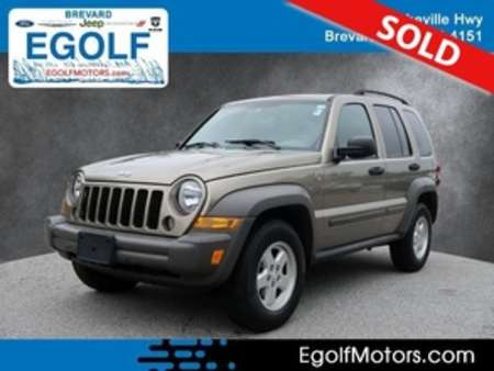 2006 Jeep Liberty Sport 4WD for Sale  - 10954A  - Egolf Motors