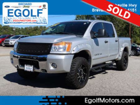 2012 Nissan Titan SV 4WD Crew Cab for Sale  - 21975B  - Egolf Motors