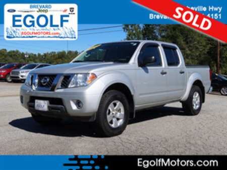 2012 Nissan Frontier SV 4WD Crew Cab for Sale  - 5232C  - Egolf Motors