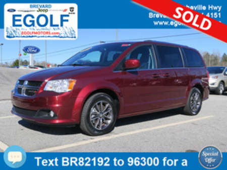 2017 Dodge Grand Caravan SXT w/DVD for Sale  - 82192  - Egolf Motors