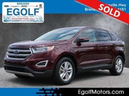 2017 Ford Edge SEL AWD for Sale  - 10983  - Egolf Motors