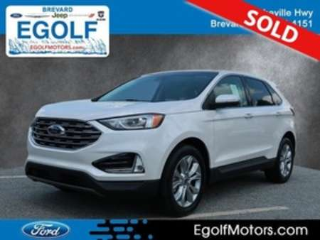 2019 Ford Edge Titanium AWD for Sale  - 5099  - Egolf Motors