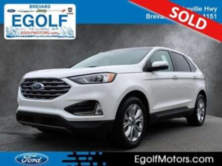 2020 Ford Edge Titanium AWD for Sale  - 5183  - Egolf Motors