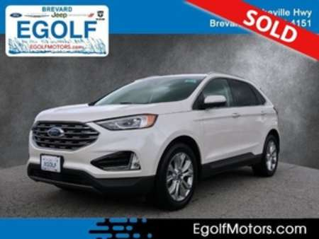 2019 Ford Edge Titanium AWD for Sale  - 10973  - Egolf Motors