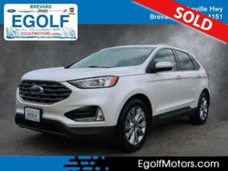 2019 Ford Edge Titanium AWD for Sale  - 10974  - Egolf Motors