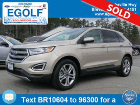 2017 Ford Edge Titanium for Sale  - 10604  - Egolf Motors