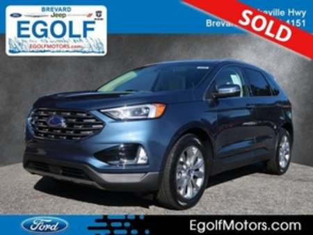 2019 Ford Edge Titanium AWD for Sale  - 5139  - Egolf Motors