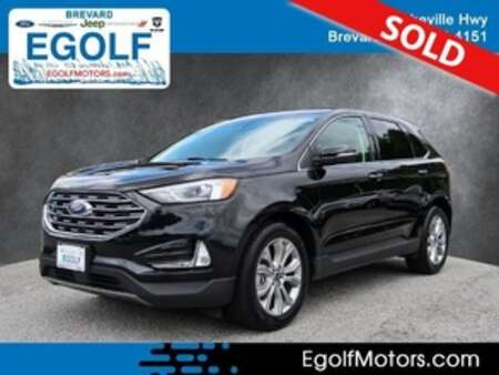 2019 Ford Edge Titanium AWD for Sale  - 10981  - Egolf Motors