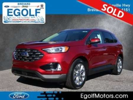2019 Ford Edge Titanium AWD for Sale  - 5140  - Egolf Motors