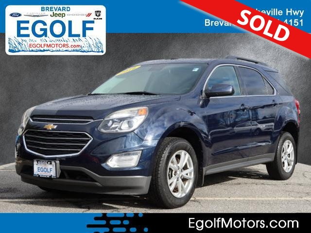 2016 Chevrolet Equinox  - Egolf Motors