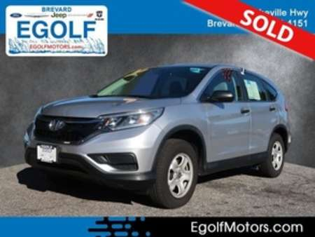 2016 Honda CR-V LX AWD for Sale  - 10825  - Egolf Motors