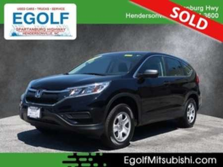 2016 Honda CR-V LX AWD for Sale  - 7695  - Egolf Motors