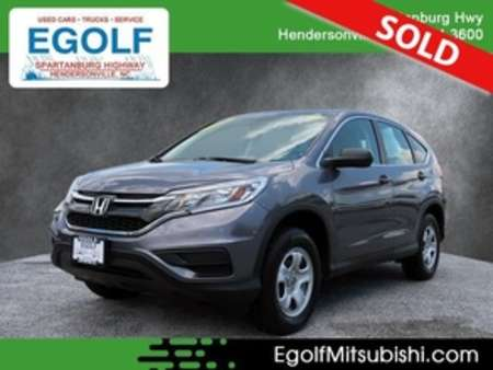 2016 Honda CR-V LX AWD for Sale  - 7704  - Egolf Motors