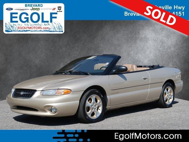 1999 Chrysler Sebring  - Egolf Motors