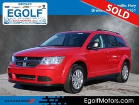 2019 Dodge Journey SE Value Package for Sale  - 21813  - Egolf Motors