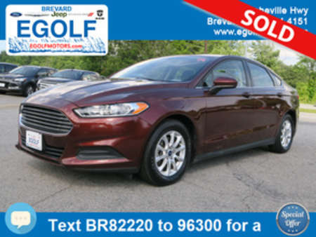2015 Ford Fusion S for Sale  - 82220  - Egolf Motors