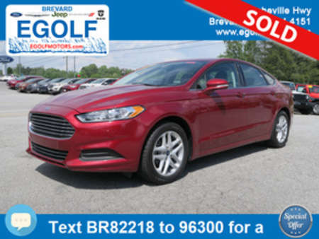 2014 Ford Fusion SE for Sale  - 82218  - Egolf Motors
