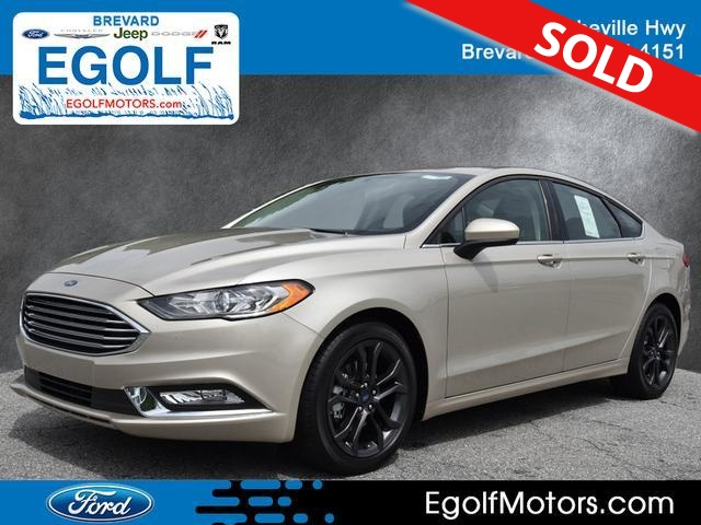 2018 Ford Fusion  - Egolf Motors