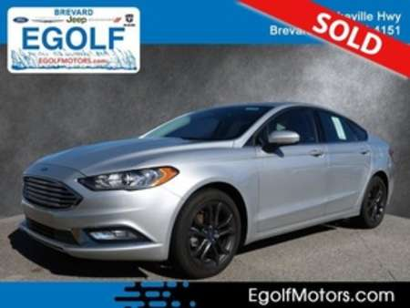2018 Ford Fusion SE for Sale  - 10708  - Egolf Motors