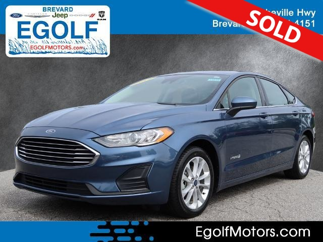 2019 Ford Fusion Hybrid  - Egolf Motors
