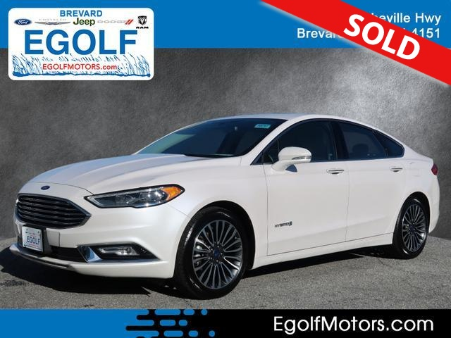 2017 Ford Fusion  - Egolf Motors