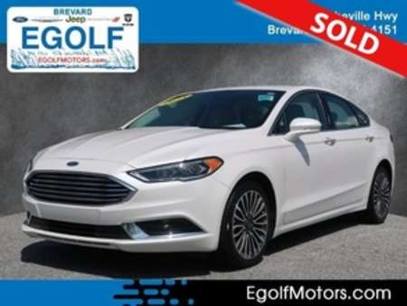 2018 Ford Fusion SE AWD for Sale  - 10993  - Egolf Motors