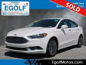 2018 Ford Fusion SE A
