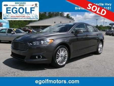 2016 Ford Fusion SE for Sale  - 10637  - Egolf Motors