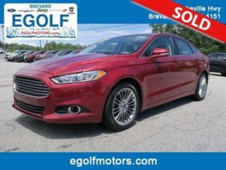 2015 Ford Fusion SE for Sale  - 10636  - Egolf Motors