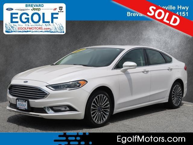 2017 Ford Fusion  - Egolf Motors