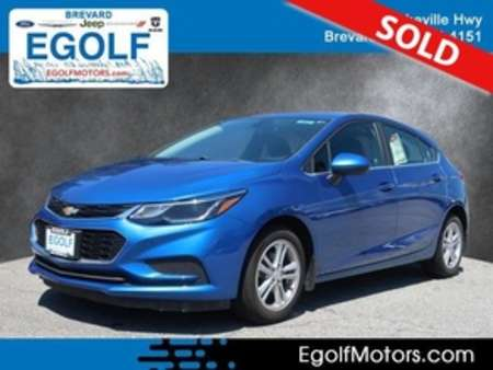 2017 Chevrolet Cruze LT Auto for Sale  - 7662  - Egolf Motors