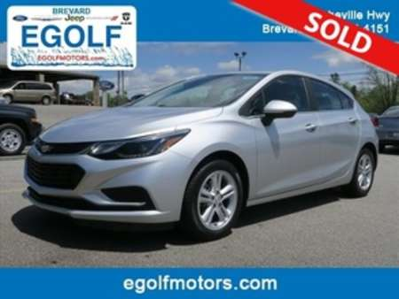 2017 Chevrolet Cruze LT Auto for Sale  - 10629  - Egolf Motors