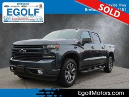 2019 Chevrolet Silverado 1500 RST 4WD Crew Cab for Sale  - 21874A  - Egolf Motors