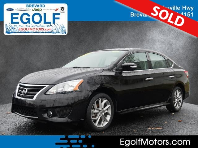 2015 Nissan Sentra  - Egolf Motors