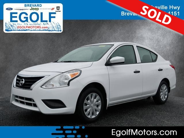 2017 Nissan Versa  - Egolf Motors