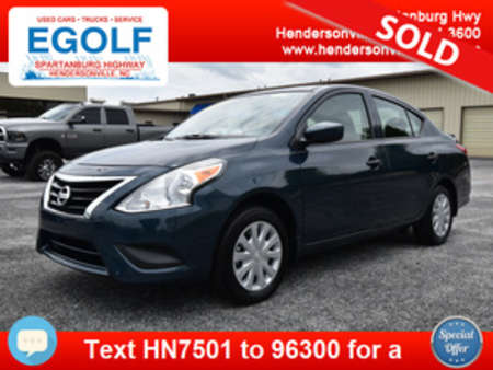 2017 Nissan Versa 1.6 S Plus for Sale  - 7501  - Egolf Motors