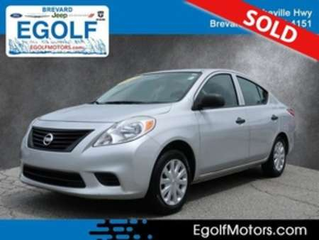 2014 Nissan Versa 1.6 S for Sale  - 10777A  - Egolf Motors