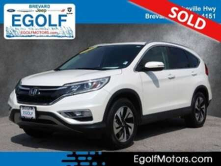 2015 Honda CR-V Touring AWD for Sale  - 10988A  - Egolf Motors