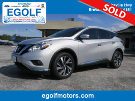 2015 Nissan Murano Platinum for Sale  - 7476  - Egolf Motors