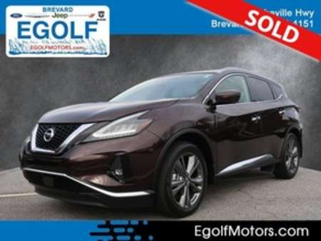 2019 Nissan Murano Platinum AWD for Sale  - 5154A  - Egolf Motors