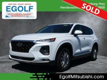 2019 Hyundai Santa Fe SEL 2.4L for Sale  - 7708A  - Egolf Motors