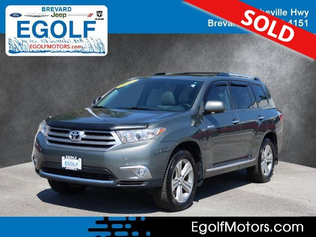 2012 Toyota Highlander  - Egolf Motors