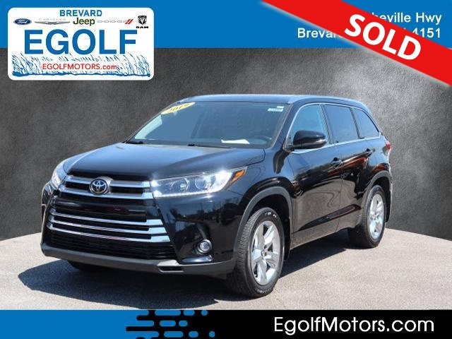 2019 Toyota Highlander  - Egolf Motors