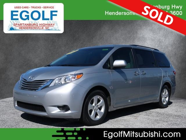2015 Toyota Sienna  - Egolf Motors