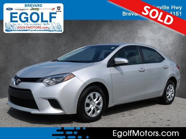 2016 Toyota Corolla  - Egolf Motors